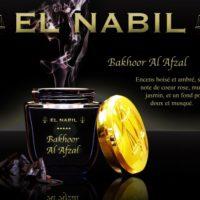 bakhoor-al-afzal-el-nabil-encens-boise-ambre-muguet